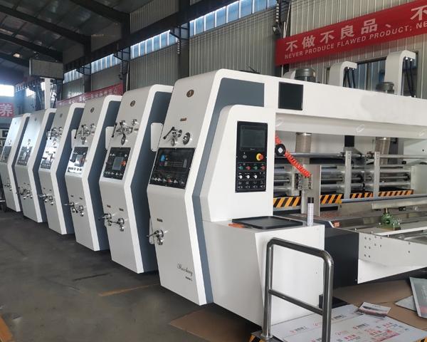 全自动高速印刷机