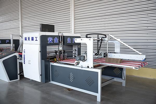 全自动粘箱机的工作主要包括哪几个部分组成